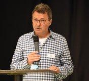 DJV-Landesvorsitzender Dr. Frank Rieger / Foro: Sascha Priesemann
